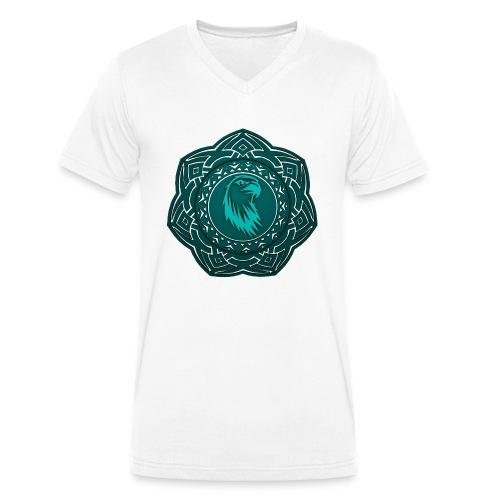 Tête d'aigle - T-shirt bio col V Stanley & Stella Homme