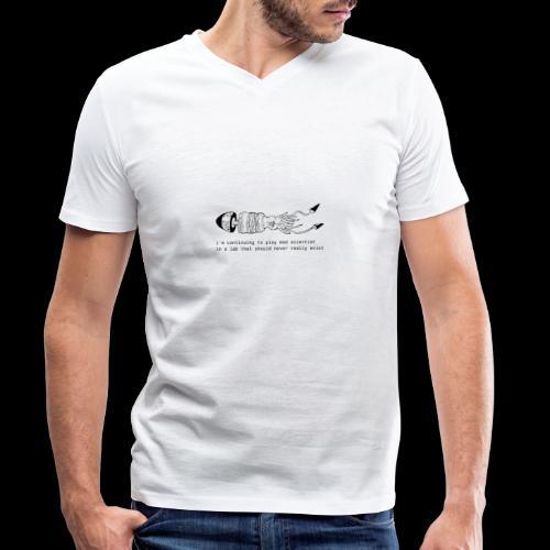 hybrid 0001 - T-shirt ecologica da uomo con scollo a V di Stanley & Stella