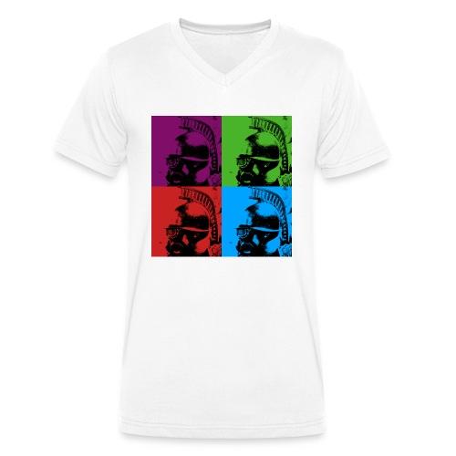 Steampunk - Männer Bio-T-Shirt mit V-Ausschnitt von Stanley & Stella