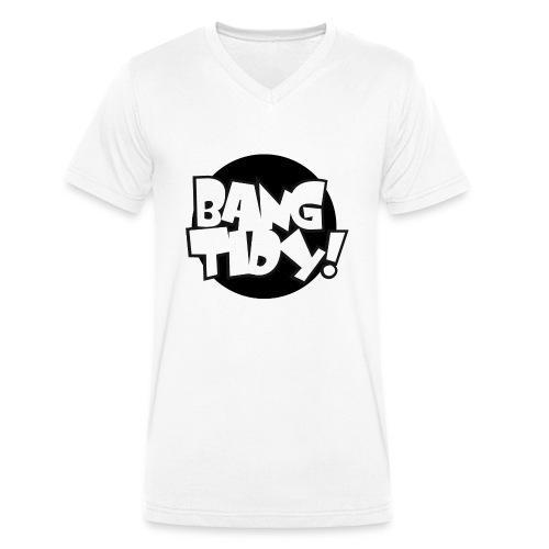 bangtidy - Men's Organic V-Neck T-Shirt by Stanley & Stella