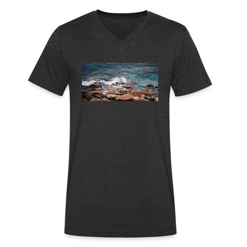 Handy Hülle Meer - Männer Bio-T-Shirt mit V-Ausschnitt von Stanley & Stella