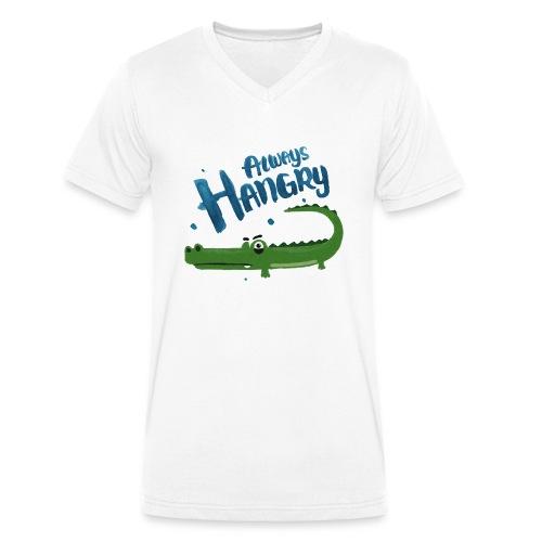 Always Hangry - Männer Bio-T-Shirt mit V-Ausschnitt von Stanley & Stella