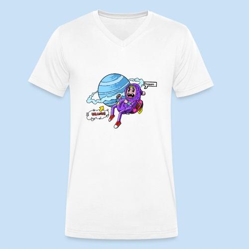 Prepare Uranus - Männer Bio-T-Shirt mit V-Ausschnitt von Stanley & Stella