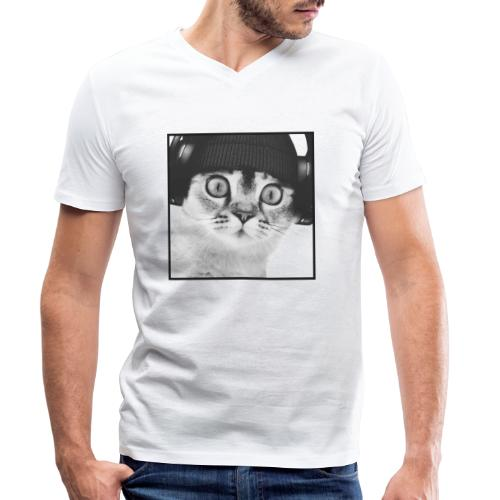 DJ CHAT - T-shirt bio col V Stanley & Stella Homme