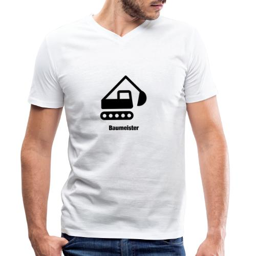 Baumeister - Männer Bio-T-Shirt mit V-Ausschnitt von Stanley & Stella