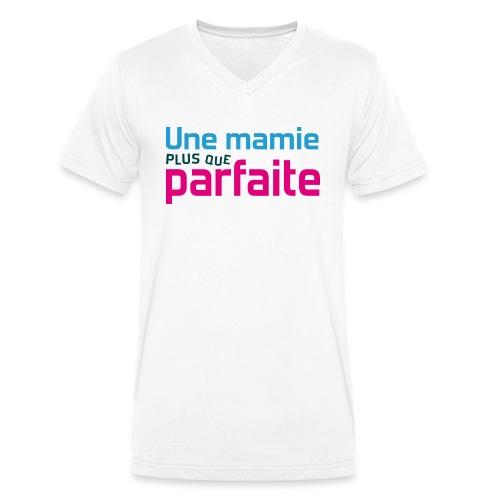 Uen mamie plus que parfaite - T-shirt bio col V Stanley & Stella Homme