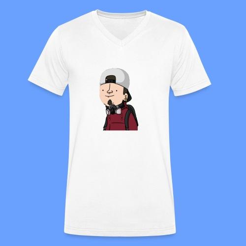 wankul cheshire - T-shirt bio col V Stanley & Stella Homme