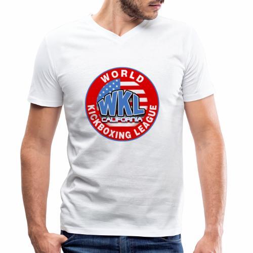 WKL CALIFORNIA - Camiseta ecológica hombre con cuello de pico de Stanley & Stella
