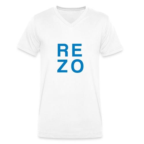 Rezo for president - Männer Bio-T-Shirt mit V-Ausschnitt von Stanley & Stella