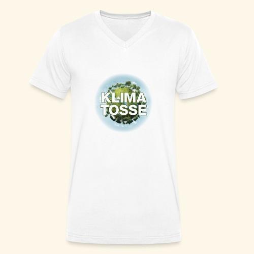 Klimatosse Klode - Økologisk Stanley & Stella T-shirt med V-udskæring til herrer