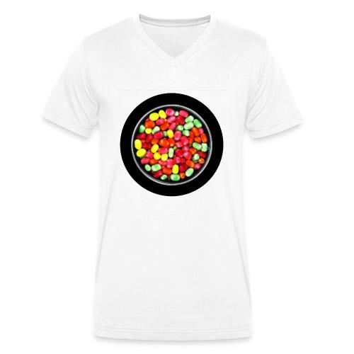 Kracher - Männer Bio-T-Shirt mit V-Ausschnitt von Stanley & Stella