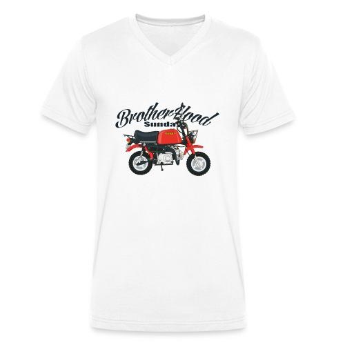 gorilla - T-shirt bio col V Stanley & Stella Homme