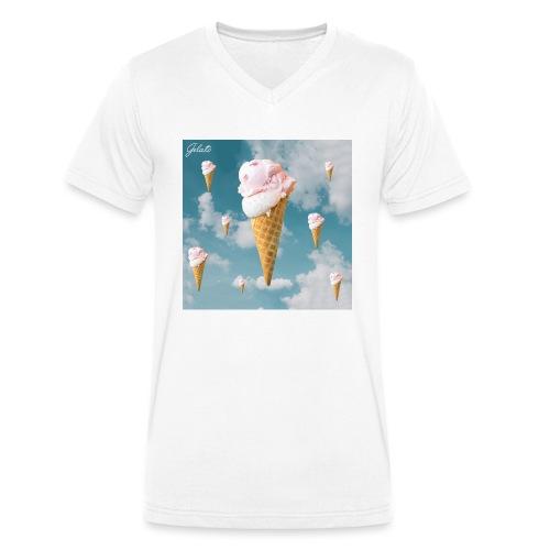 Gelato EP Cover - Männer Bio-T-Shirt mit V-Ausschnitt von Stanley & Stella