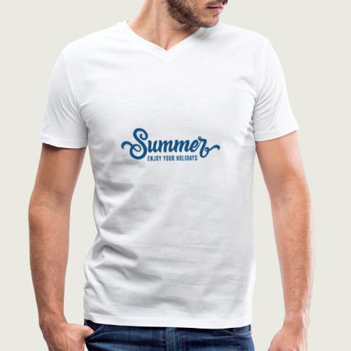 Summer - T-shirt bio col V Stanley & Stella Homme