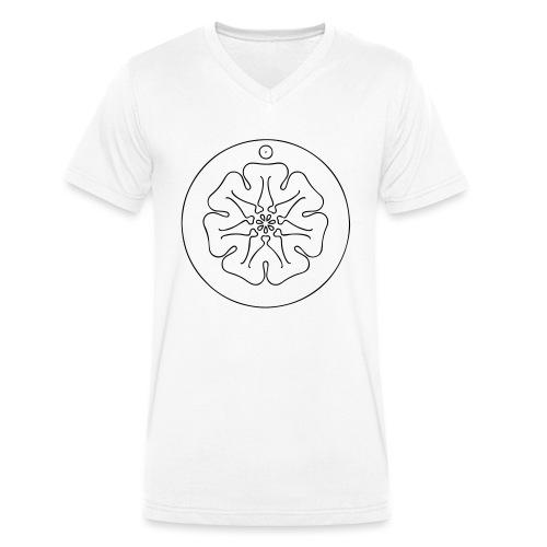Rudis Sonnen Siegel - Männer Bio-T-Shirt mit V-Ausschnitt von Stanley & Stella