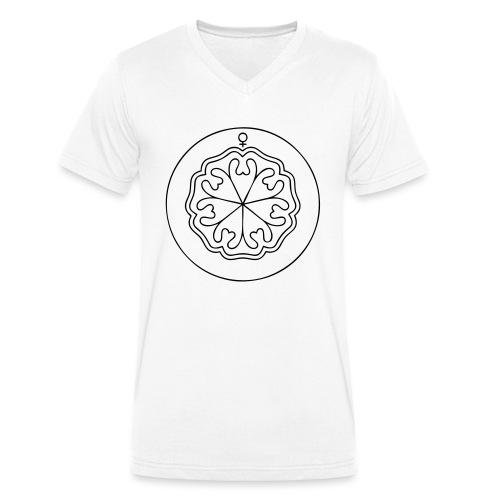 Rudis Venus Siegel - Männer Bio-T-Shirt mit V-Ausschnitt von Stanley & Stella