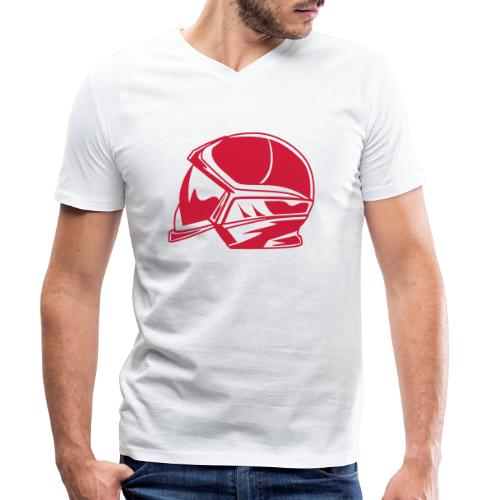 new casque - T-shirt bio col V Stanley & Stella Homme
