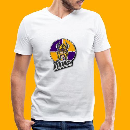MVFGeV Logo mit Schatten - Männer Bio-T-Shirt mit V-Ausschnitt von Stanley & Stella