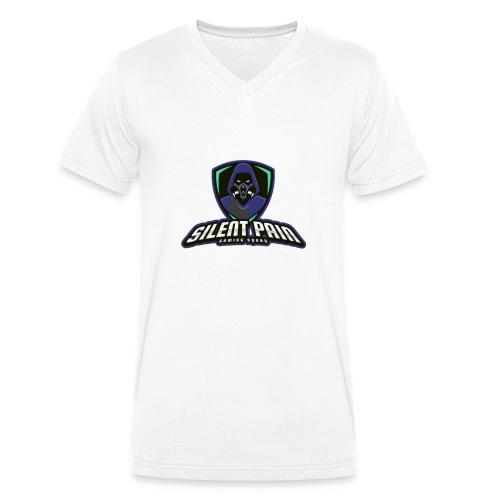 Silent Pain ESL Merch - Männer Bio-T-Shirt mit V-Ausschnitt von Stanley & Stella
