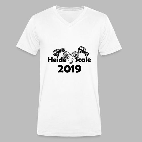 HeideScale 2019 - Männer Bio-T-Shirt mit V-Ausschnitt von Stanley & Stella