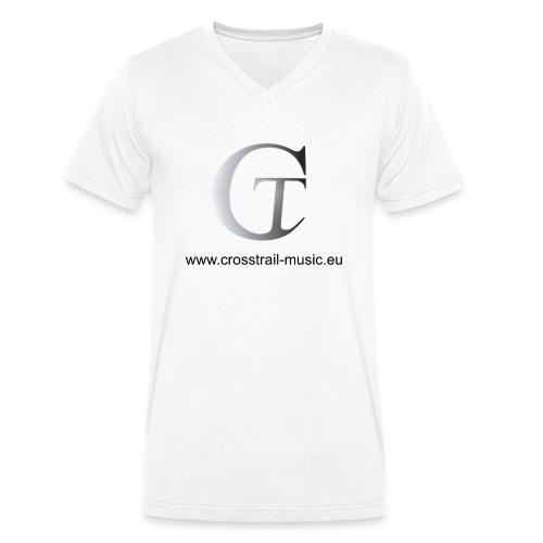 Crosstrail Music - Männer Bio-T-Shirt mit V-Ausschnitt von Stanley & Stella