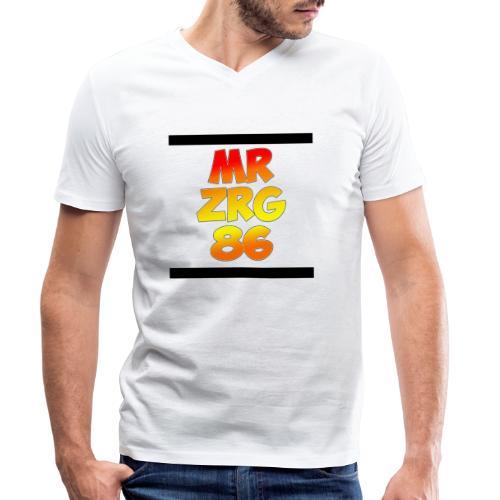 Fan Merchandising - Männer Bio-T-Shirt mit V-Ausschnitt von Stanley & Stella