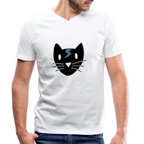 Chat Bowie - T-shirt bio col V Stanley & Stella Homme