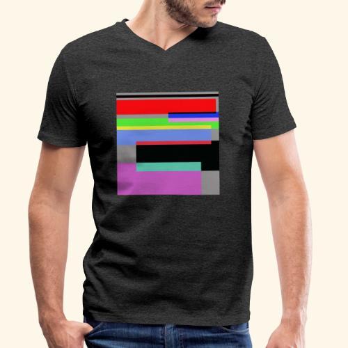 Artistico27 - T-shirt ecologica da uomo con scollo a V di Stanley & Stella