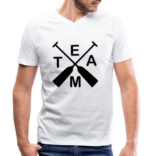 Drachenboot Team 1c - Männer Bio-T-Shirt mit V-Ausschnitt von Stanley & Stella