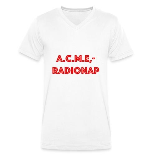 acmeradionaprot - Männer Bio-T-Shirt mit V-Ausschnitt von Stanley & Stella