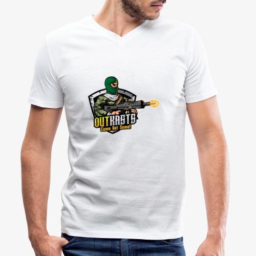 OutKasts [OKT] Logo 1 - Men's Organic V-Neck T-Shirt by Stanley & Stella