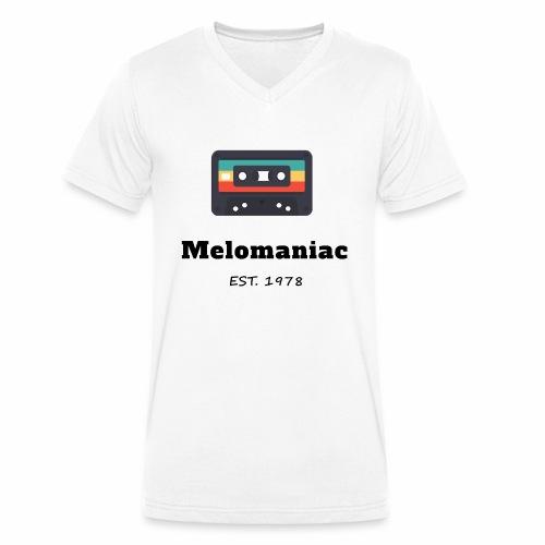 Melomaniac Vintage - Männer Bio-T-Shirt mit V-Ausschnitt von Stanley & Stella