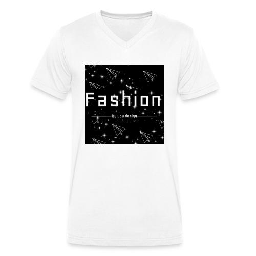 fashion - Mannen bio T-shirt met V-hals van Stanley & Stella