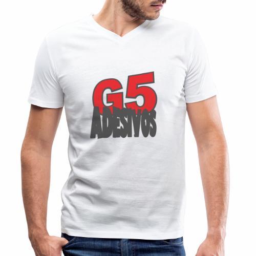 Adesivos cooler Stil - Männer Bio-T-Shirt mit V-Ausschnitt von Stanley & Stella