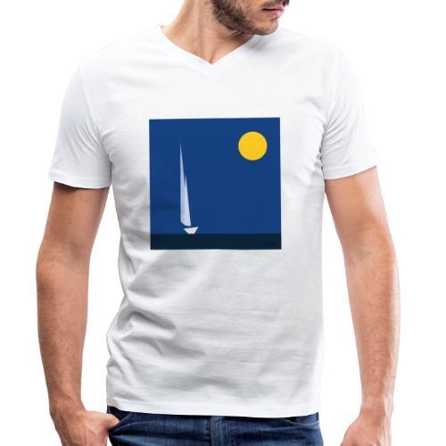 voile - T-shirt bio col V Stanley & Stella Homme