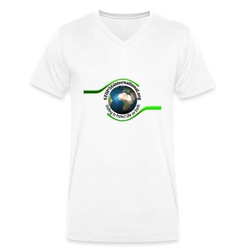 STOP5G - Men's Organic V-Neck T-Shirt by Stanley & Stella