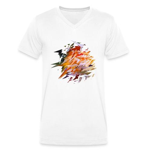 Buntbarsch / Discusfish / Symphysodon - Männer Bio-T-Shirt mit V-Ausschnitt von Stanley & Stella