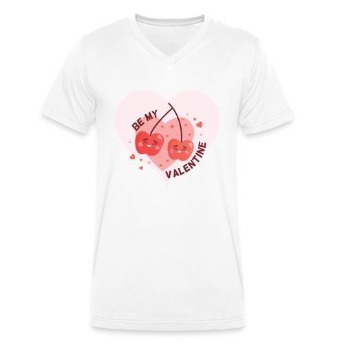 Be my Valentine - Männer Bio-T-Shirt mit V-Ausschnitt von Stanley & Stella