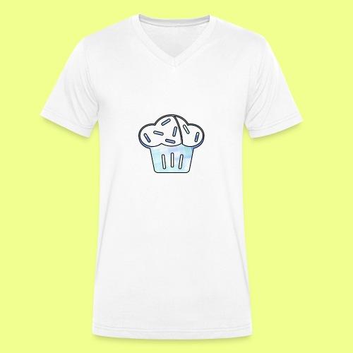 Pastel - Camiseta ecológica hombre con cuello de pico de Stanley & Stella