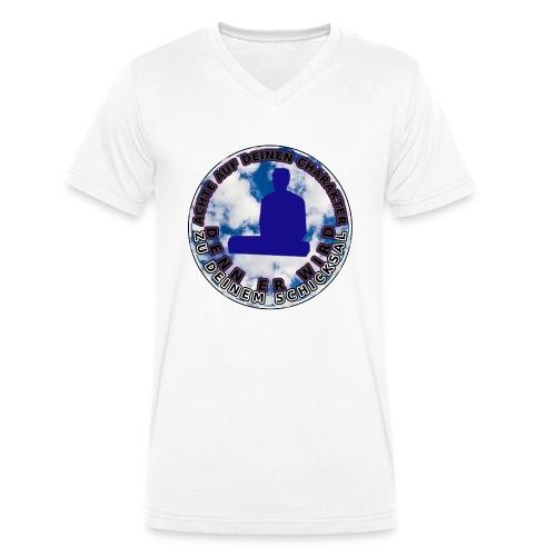 Discriminatio V - Männer Bio-T-Shirt mit V-Ausschnitt von Stanley & Stella