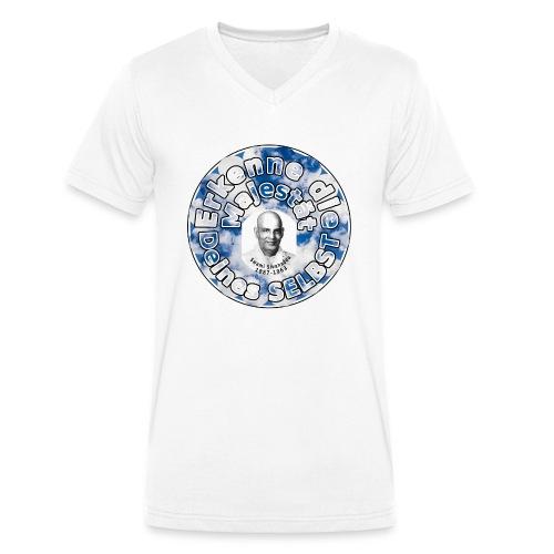 SELBST - Erkenntnis - Männer Bio-T-Shirt mit V-Ausschnitt von Stanley & Stella