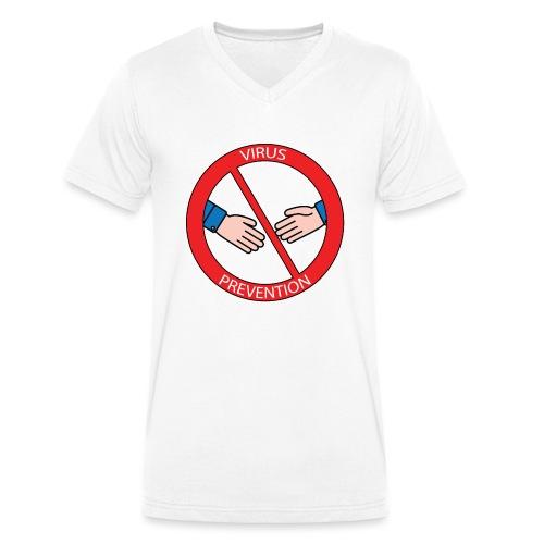 Stay away from me! - T-shirt ecologica da uomo con scollo a V di Stanley & Stella
