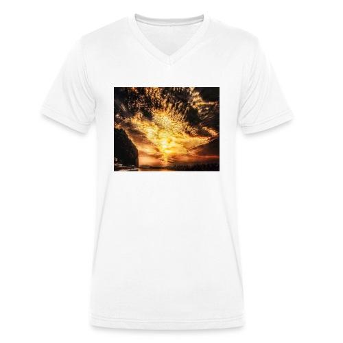 Screenshot 20200319 134442 Photos - Økologisk T-skjorte med V-hals for menn fra Stanley & Stella