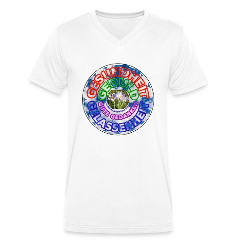 Besonderes Fruehjahr 2020 - Männer Bio-T-Shirt mit V-Ausschnitt von Stanley & Stella