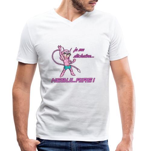 Shun - Déchaîne Nébulaire - T-shirt bio col V Stanley & Stella Homme