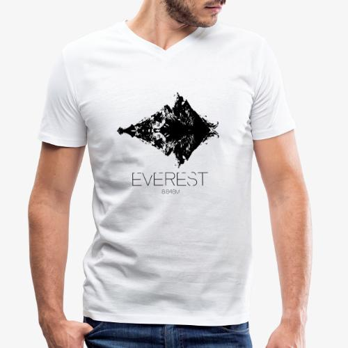 Everest - Men's Organic V-Neck T-Shirt by Stanley & Stella