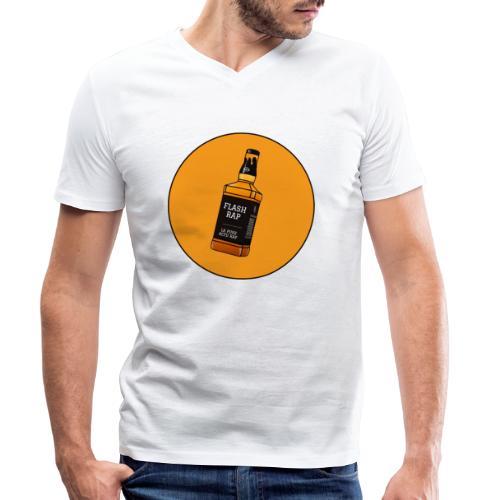 Logo Flash Rap - T-shirt bio col V Stanley & Stella Homme
