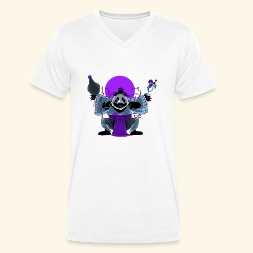 Panda Barman - T-shirt bio col V Stanley & Stella Homme