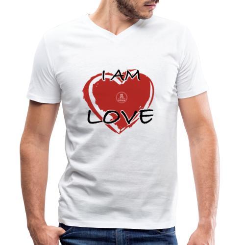 IM LOVE MaitriYoga - T-shirt bio col V Stanley & Stella Homme