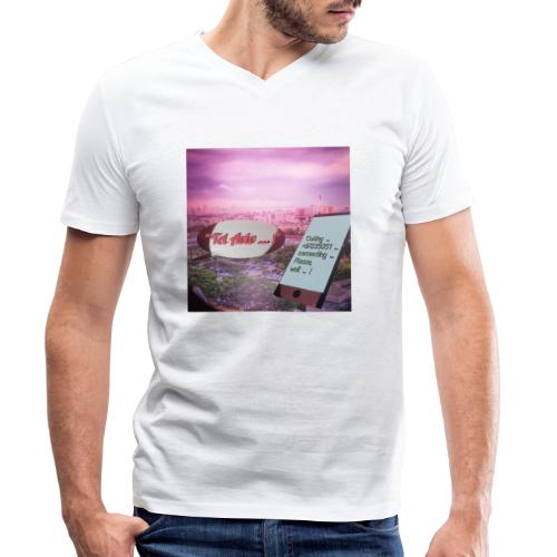 Tal Aviv is calling - traumhafter Sehnsuchtsort - Männer Bio-T-Shirt mit V-Ausschnitt von Stanley & Stella